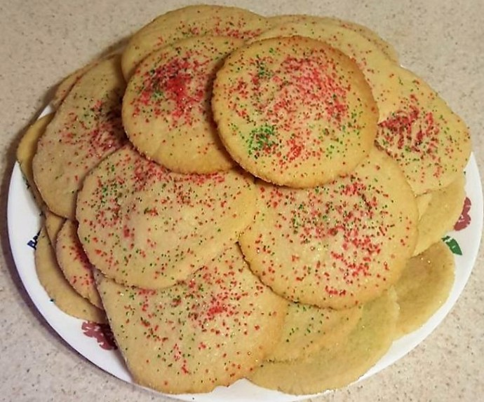 Best Old Fashion Sugar Cookies Ever