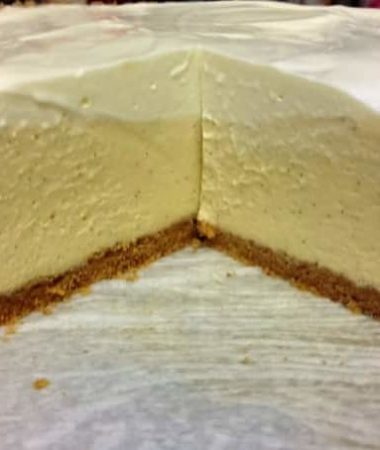 Pressure Cooker Vanilla Bean Cheesecake