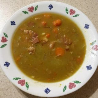 Pressure Cooker Split Pea Soup