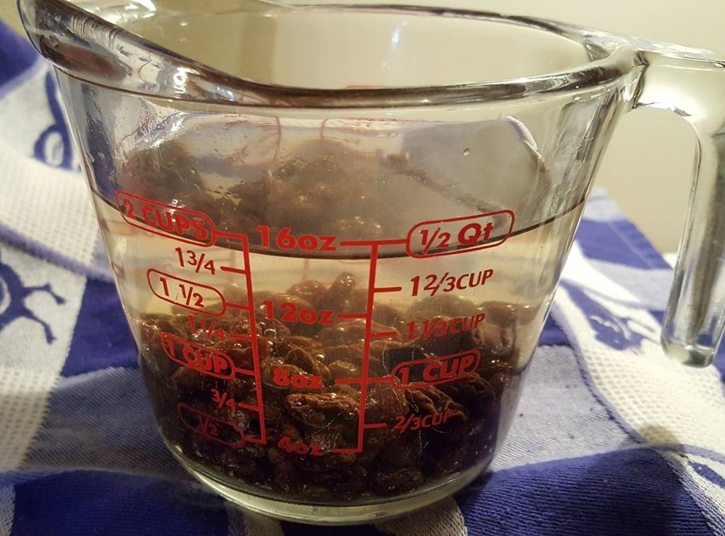 Soak Raisins in Water to Plump