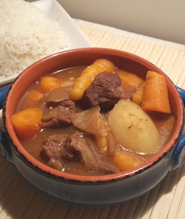 Pressure Cooker Japanese Beef Curry Stew