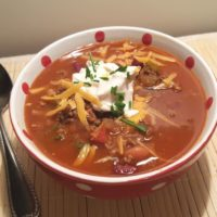 Pressure Cooker Copycat Wendy's Chili Recipe