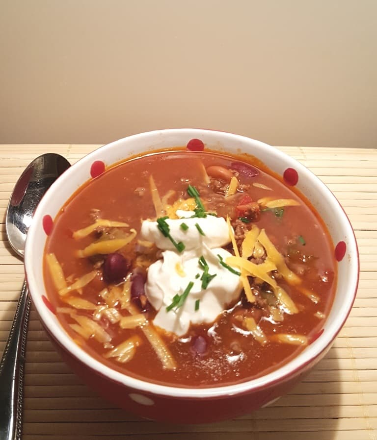 Pressure Cooker Copycat Wendy's Chili