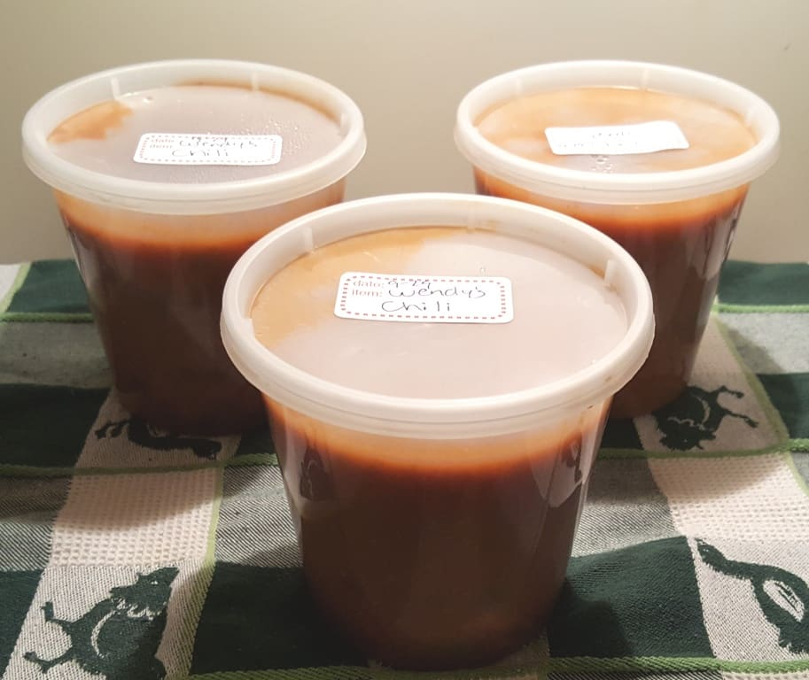 Ready for the Freezer in Reditainers Extreme Freezer Containers