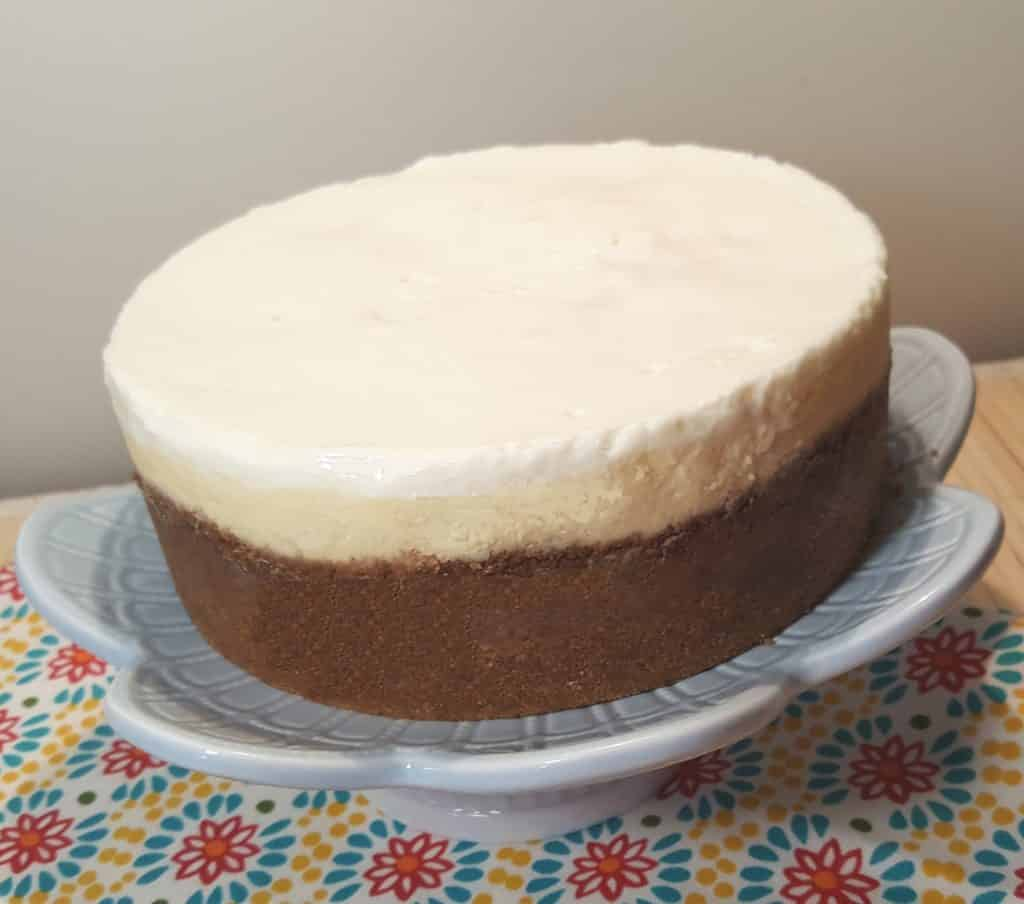 Pressure Cooker New York Cheesecake This Old Gal Double Layer Cheese Cake Original Lindys