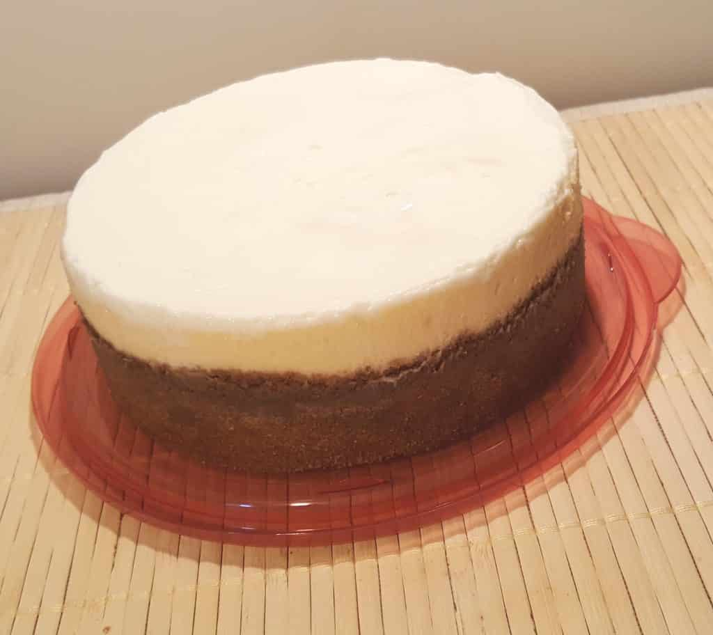 Creamy and Dense New York Cheesecake
