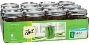 Ball 16 oz Wide Mouth Mason Jars