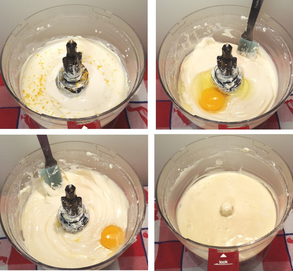 Add in Cream and Eggs
