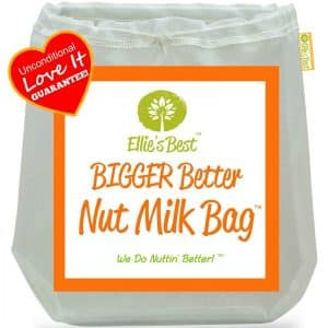 Large Nut Milk Bag for Straining Yogurt