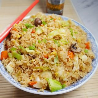 Pressure Cooker Fried Rice Chinese Style