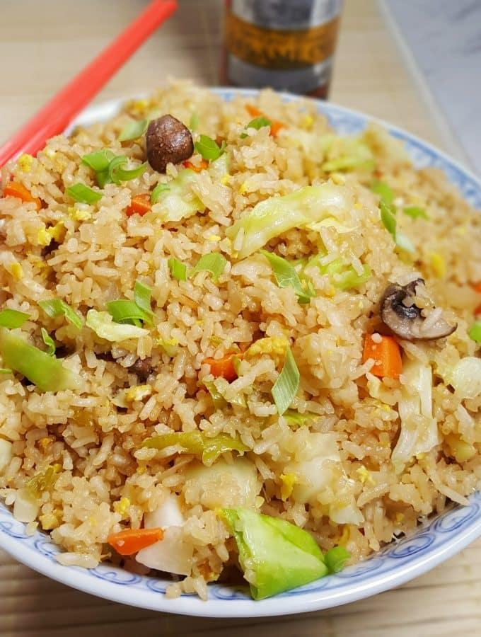 Hibachi Pressure Cooker Fried Rice