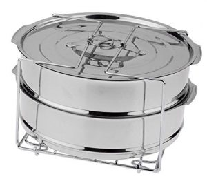 Round Stackable Cooking Pans