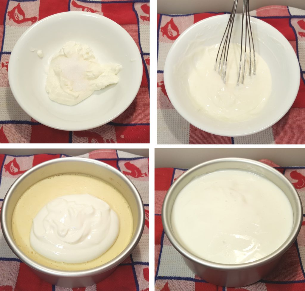 Whisk together the Sour Cream Layer