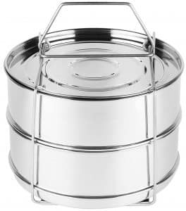 Stackable Stainless Steel Pressure Cooker Pans