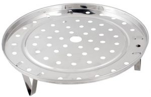 Stainless Steel Steaming Steamer Rack 6 Quart +