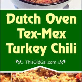 Dutch Oven Tex-Mex Turkey Chili