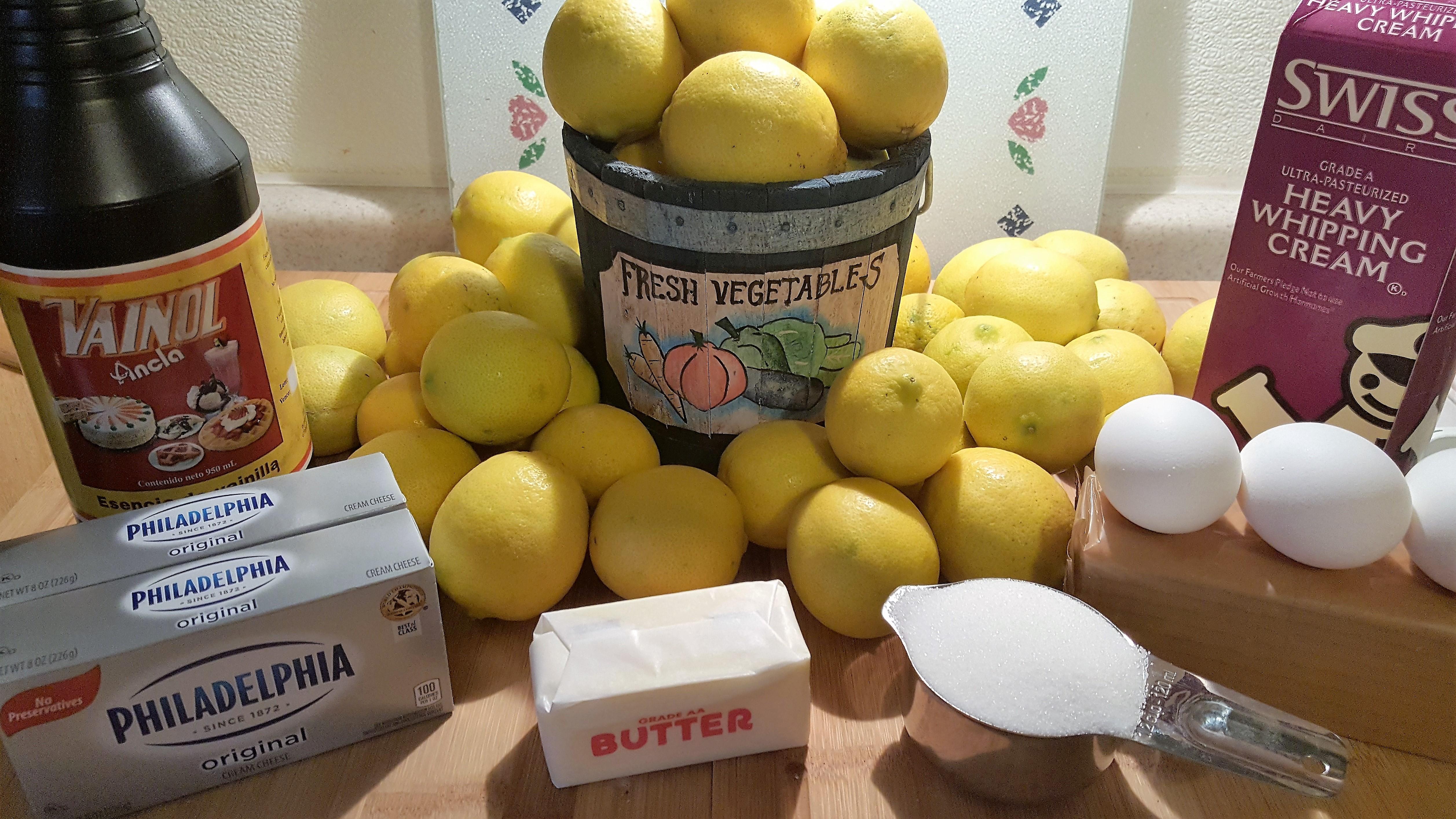 pressure cooker meyer lemon cheesecake this old gal