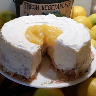 Pressure Cooker Meyer Lemon Cheesecake