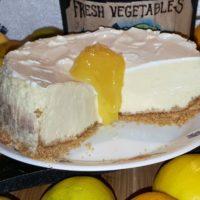 Pressure Cooker Meyer Lemon Cheesecake