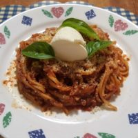 Instant Pot Spaghetti with Homemade Sauce