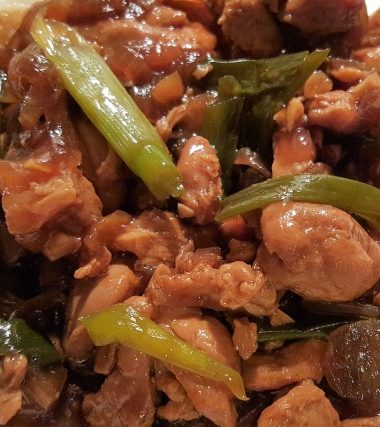 Pressure Cooker Bourbon Chicken