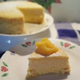 Pressure Cooker Italian Meyer Lemon Ricotta Cheesecake