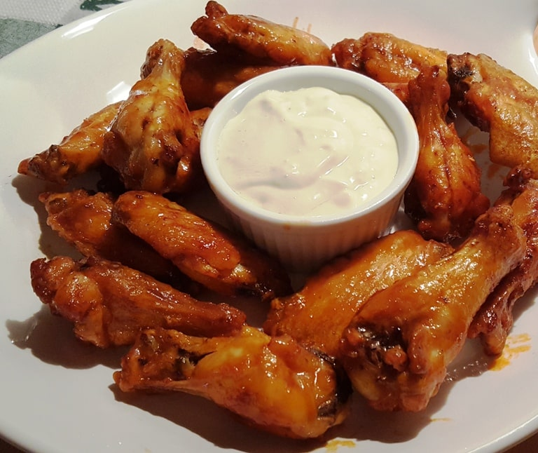 Better Than Hot Wings Café Air Fryer Buffalo Chicken Wings