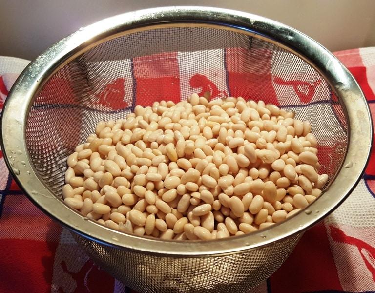 Rinsed Navy Beans