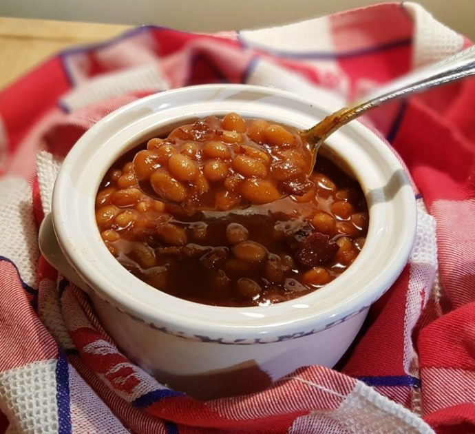 Pressure Cooker Holiday Boston Baked Beans