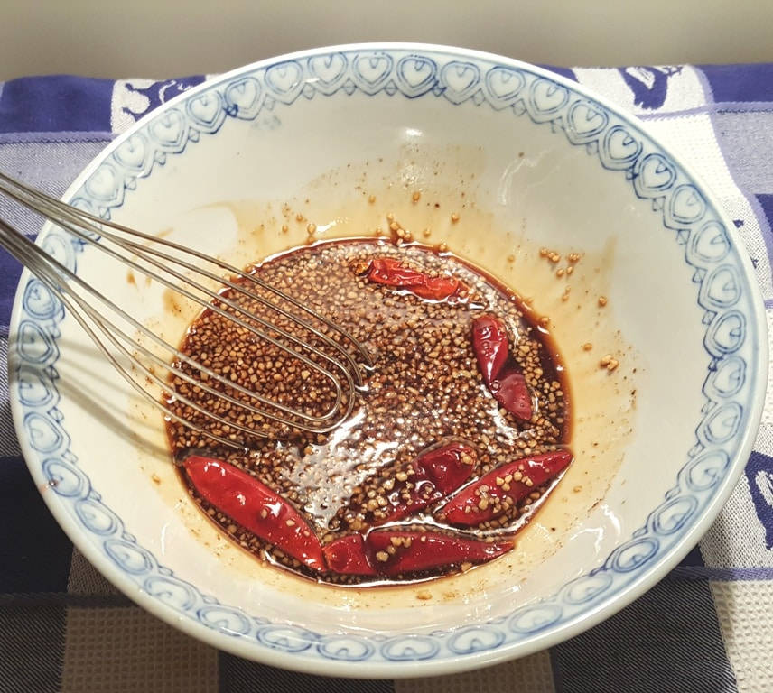 Whisk up the Marinade for the Beef