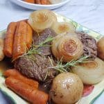 Pressure Cooker Classic Pot Roast Dinner