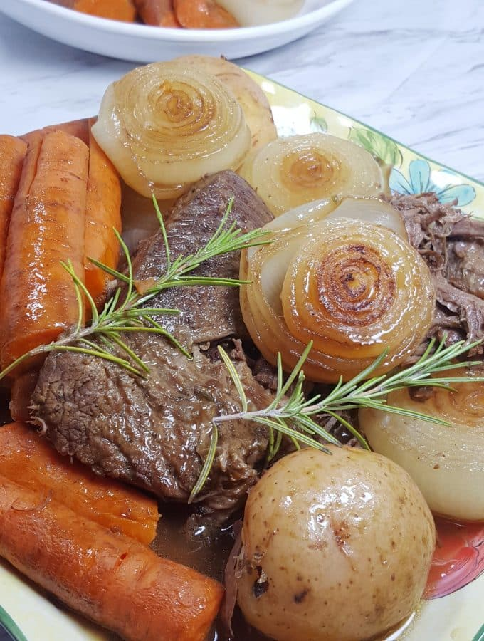 Pressure Cooker Classic Pot Roast Dinner