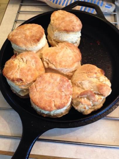 Buttermilk Biscuits in Cast Iron 2