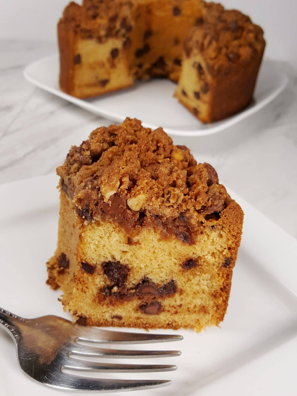 Best Ever Chocolate Chip Coffee Cake