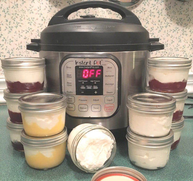 Instant Pot Greek Yogurt