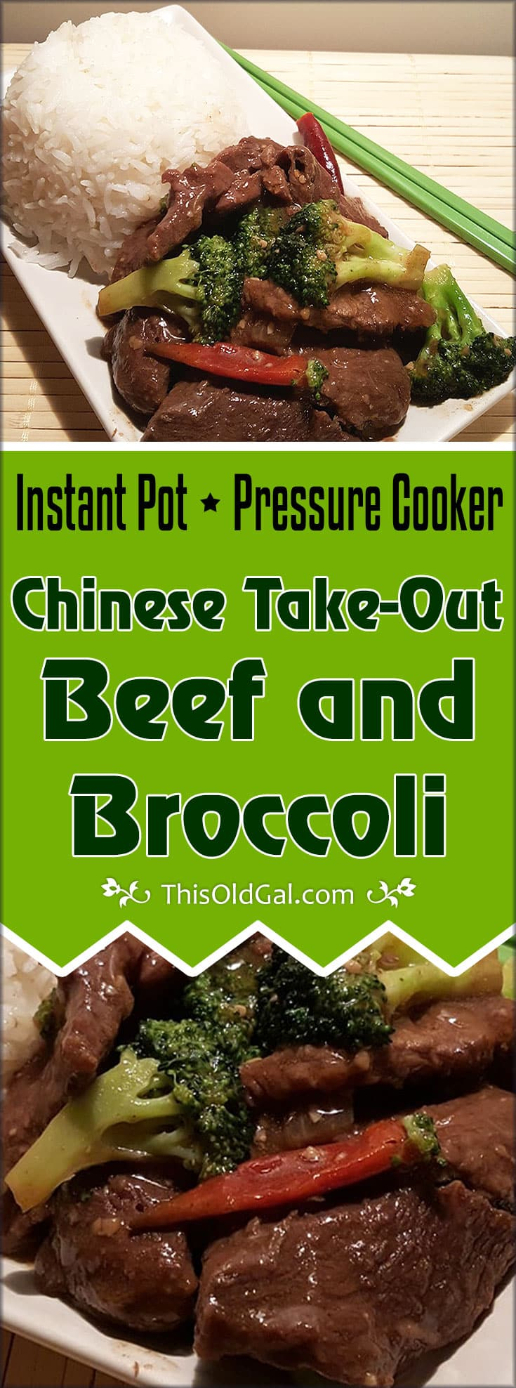 Pressure cooker chinese take out beef and broccoli this old gal pin this pressure cooker chinese take out beef and broccoli forumfinder Image collections