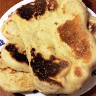 Homemade Indian Naan (Flatbread)