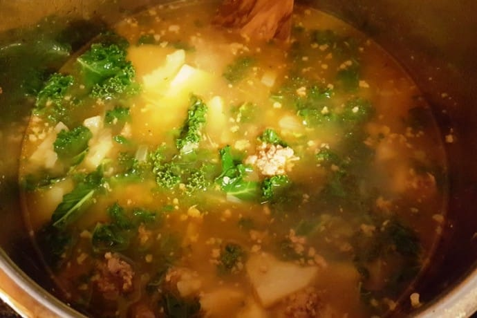 Pressure Cooker Olive Garden Zuppa Toscana Italian Soup This Old Gal