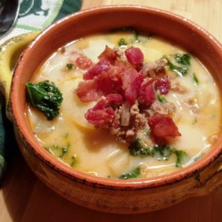 Pressure Cooker Olive Garden Zuppa Toscana (Italian Soup)