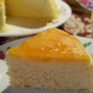 Pressure Cooker Three Ingredient Japanese Cotton Cheesecake {Instant Pot}