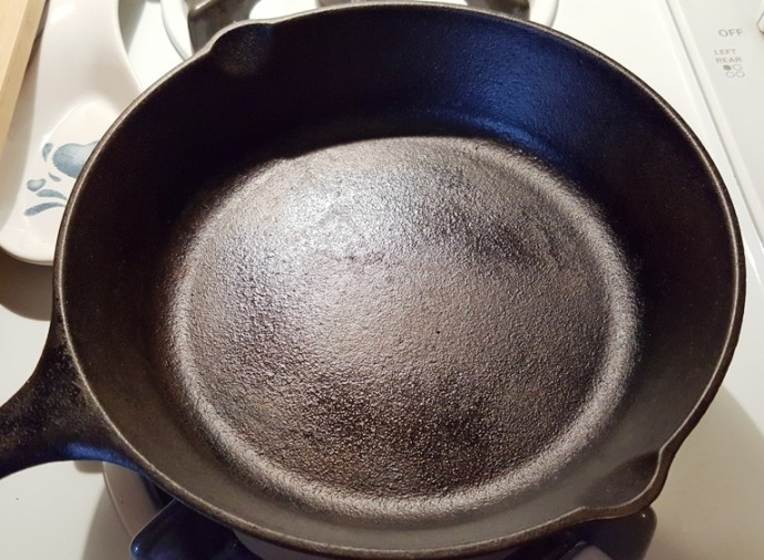 Heat a Cast Iron Skillet