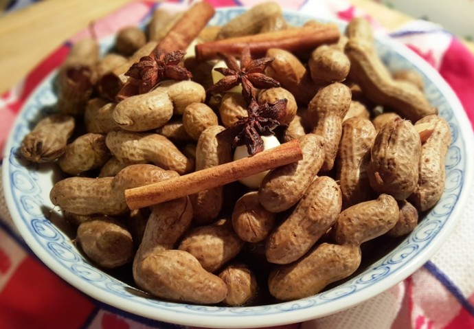 Asian boiled peanut recipe