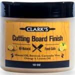Clark's Cutting Board Finish Wax
