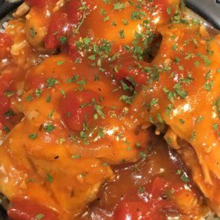 Instant Pot Rojo Fiesta Chicken