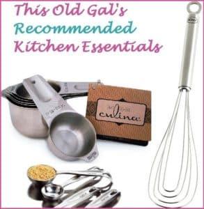 Kitchen Essentials & Gadgets