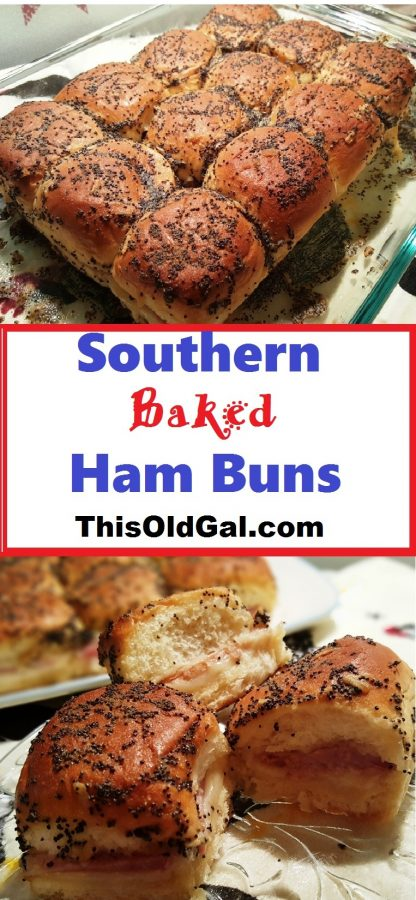 Southern Baked Ham & Cheese Buns