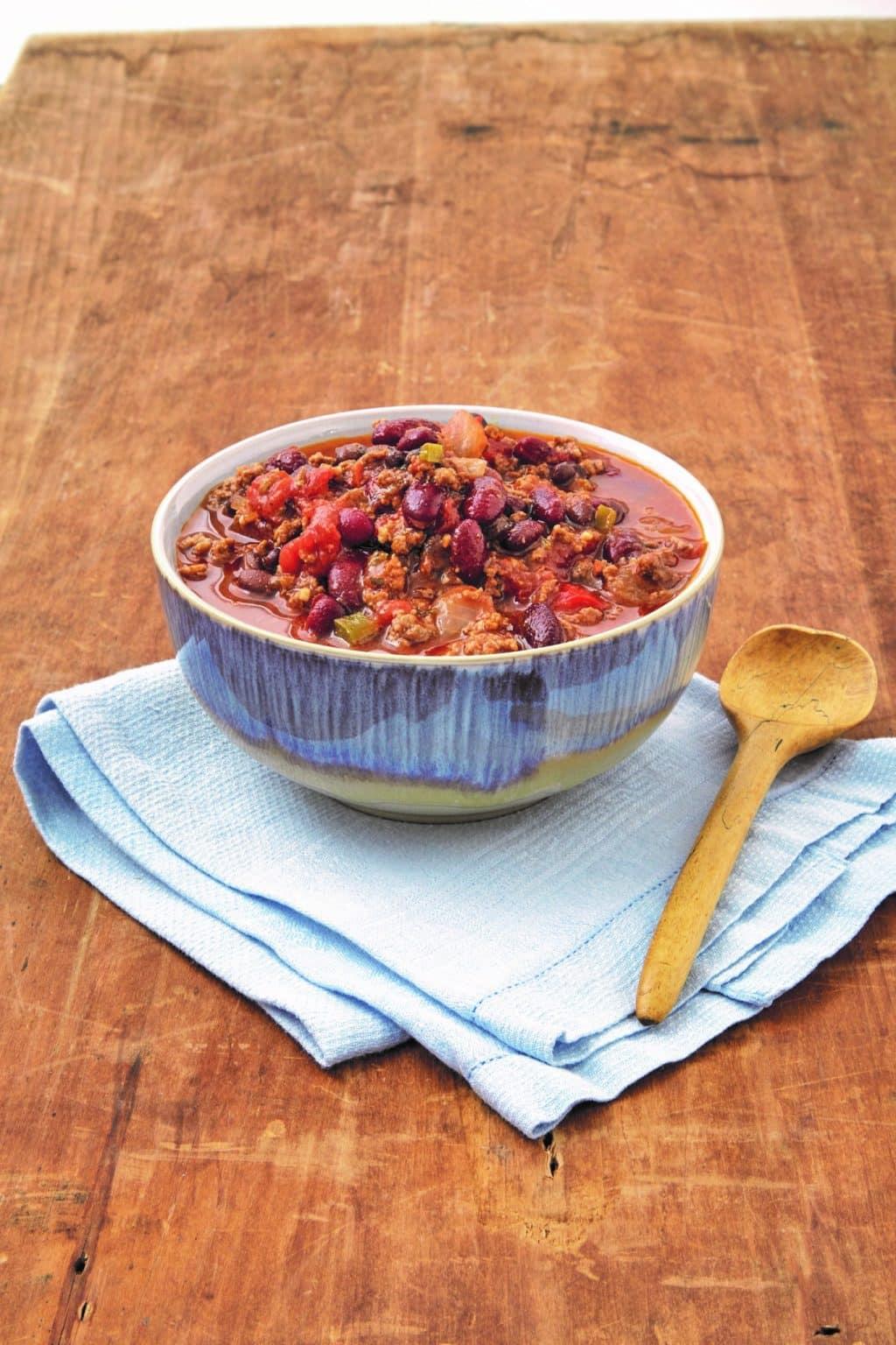 Instant Pot Pressure Cooker Chili Con Carne