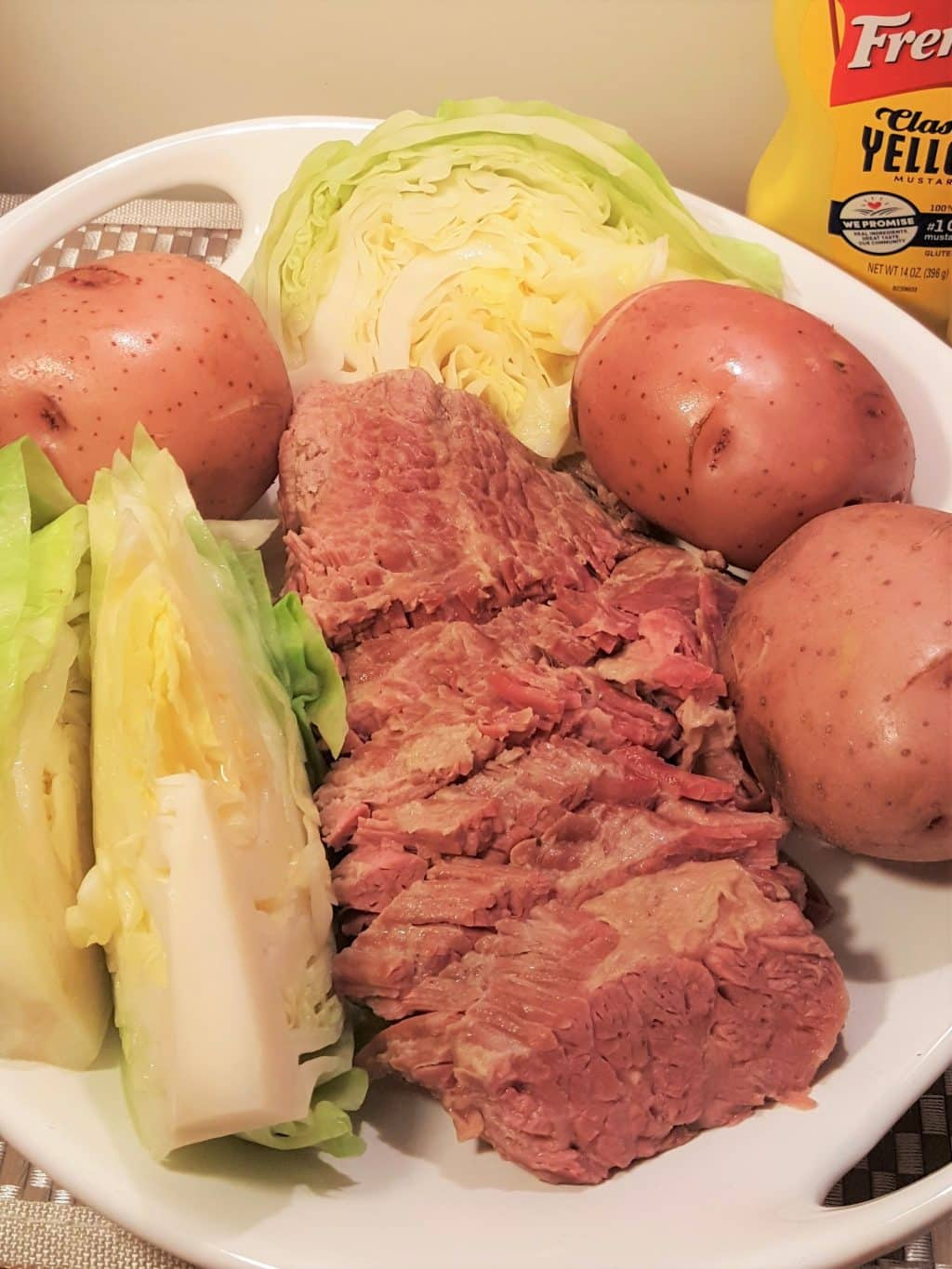 Pressure Cooker New England Boiled Dinner