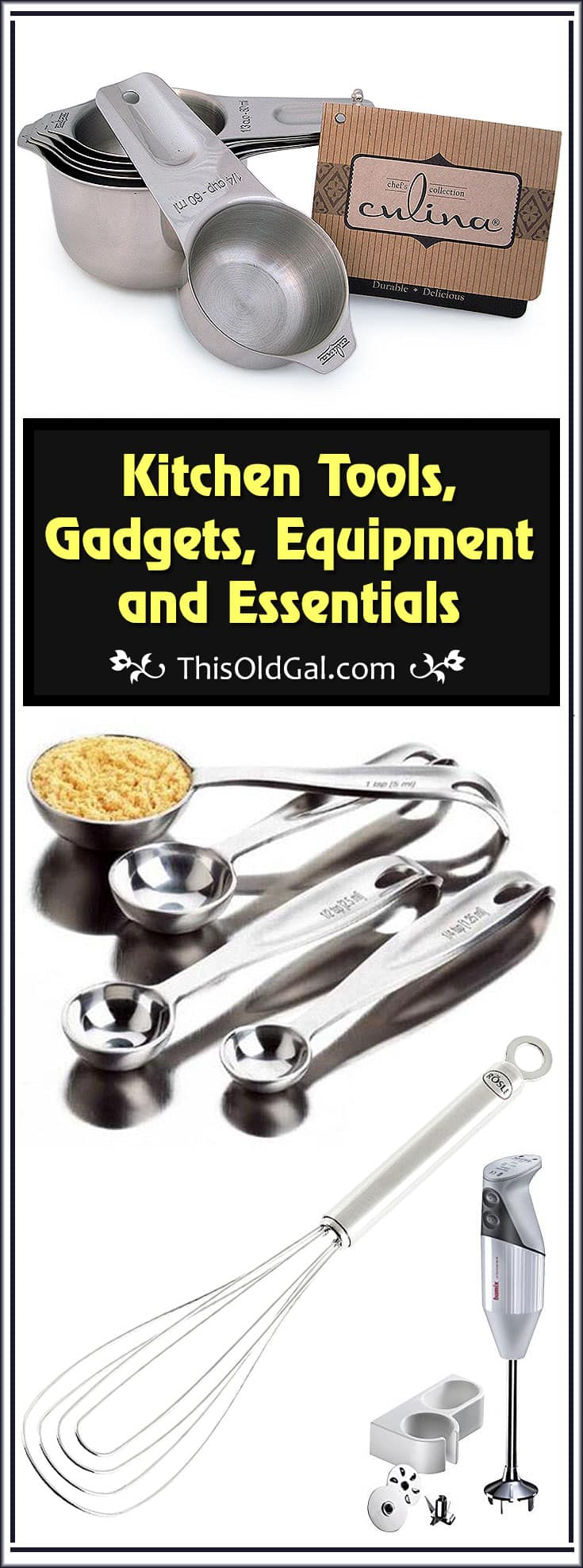 Kitchen Tools Gadgets Equipment Essentials