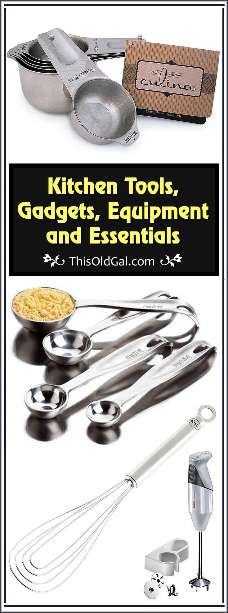 Kitchen Tools Gadgets Equipment Essentials